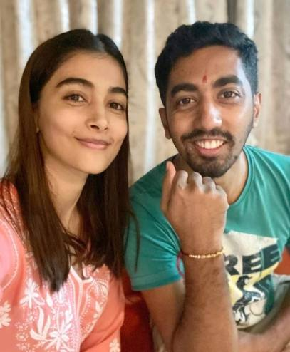 Pooja Hegde Father And Mother